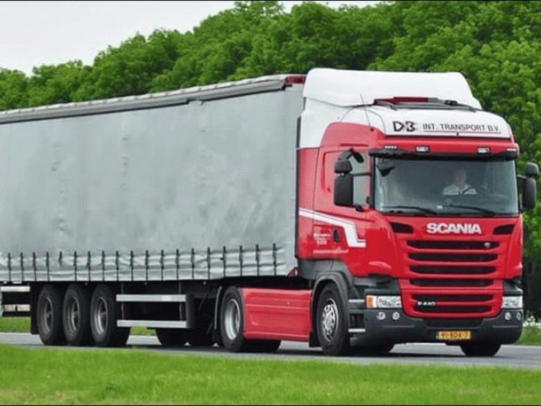 Deboer transport vrachtwagen
